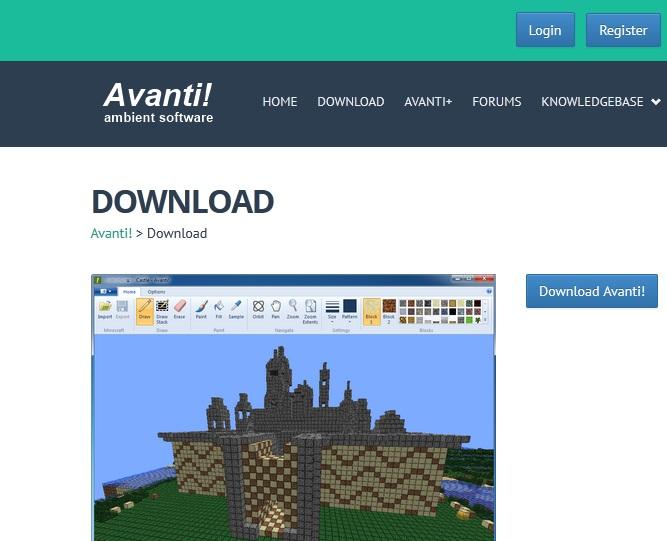 Avanti Website