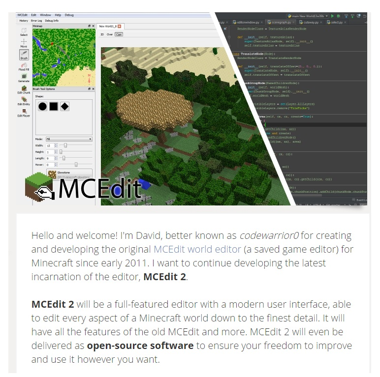 MCEdit 2 Patreon