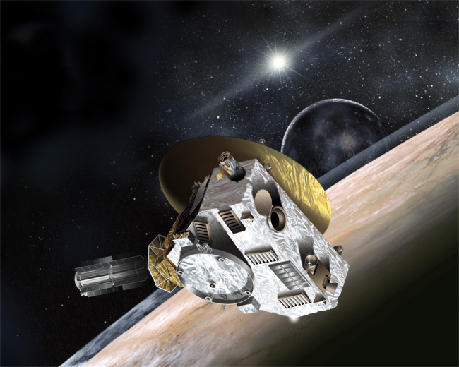 LORRI space probe Pluto