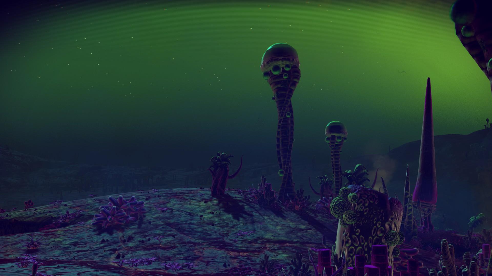 space lichens
